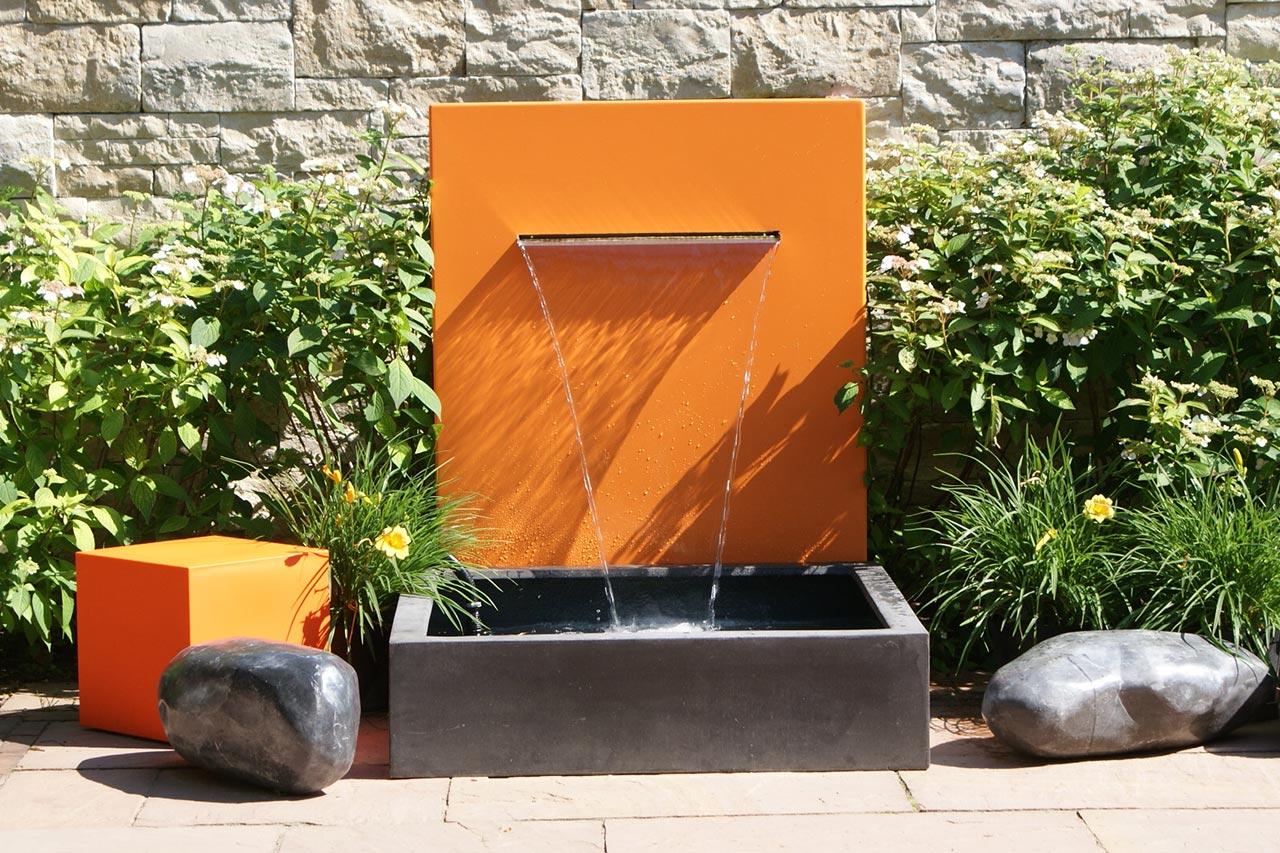 stunning gartenbrunnen modernes design gallery globexusa. Black Bedroom Furniture Sets. Home Design Ideas