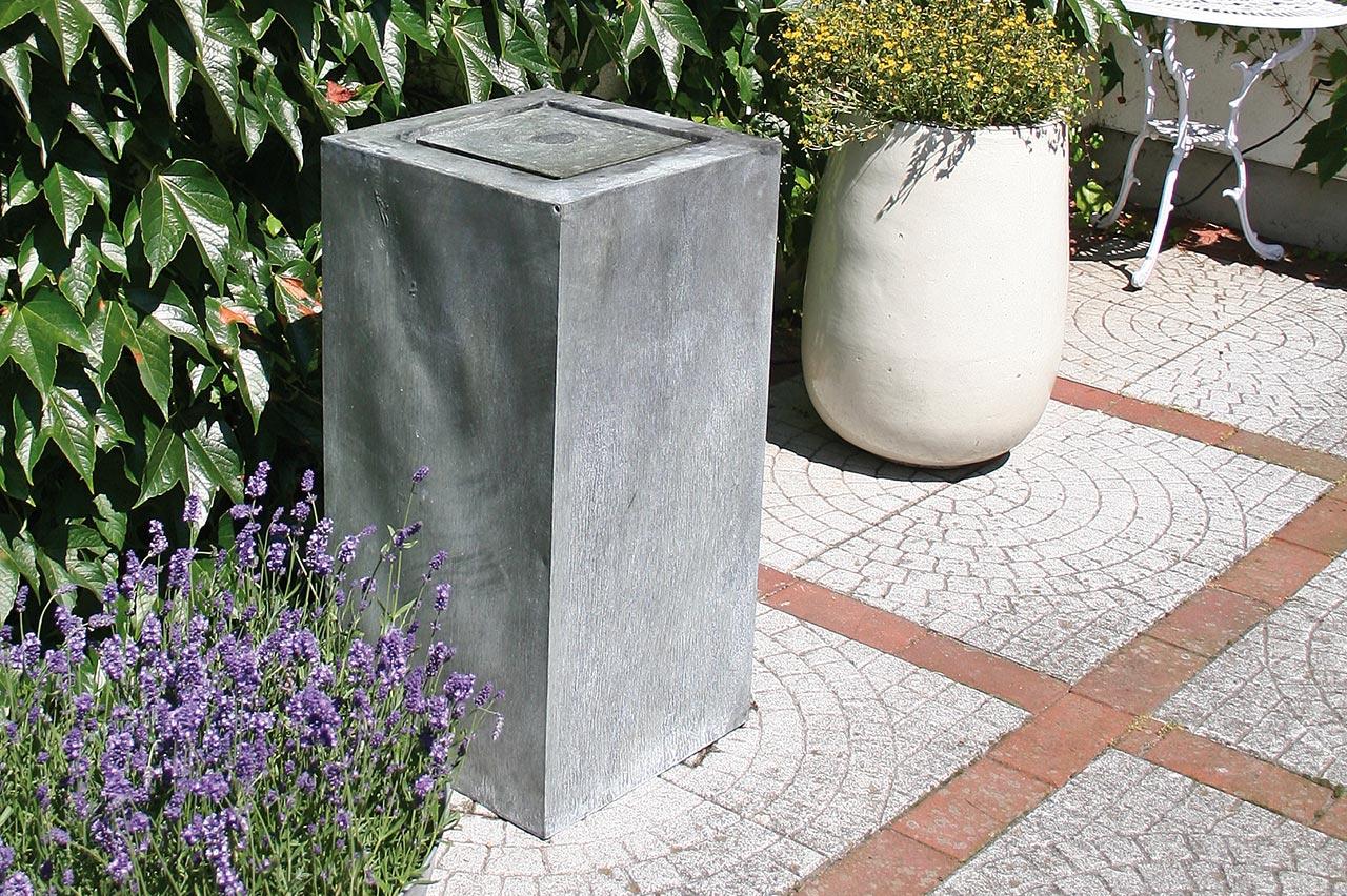moderne gartenbrunnen moderner gartenbrunnen verschiedene. Black Bedroom Furniture Sets. Home Design Ideas