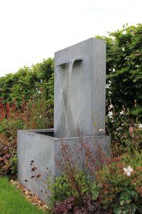 Gartenbrunnen Gartenspringbrunnen Wind Wasserverlust Zinkbrunnen Garten-Wasserfall