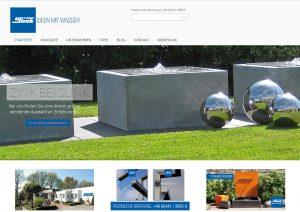 Gartenbrunnen kaufen bestellen Anfragen online Brunnen Shop Angebot erstellen lassen individuell